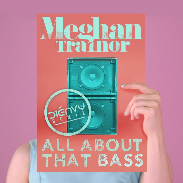 dienvy remix to meghan trainor all about that bass album art